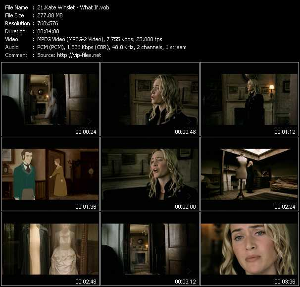 Kate Winslet video screenshot