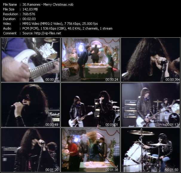 Ramones video screenshot