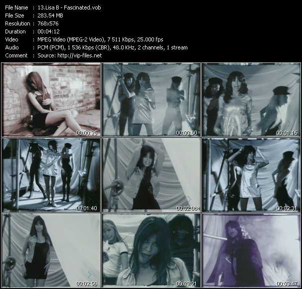 Lisa B video screenshot