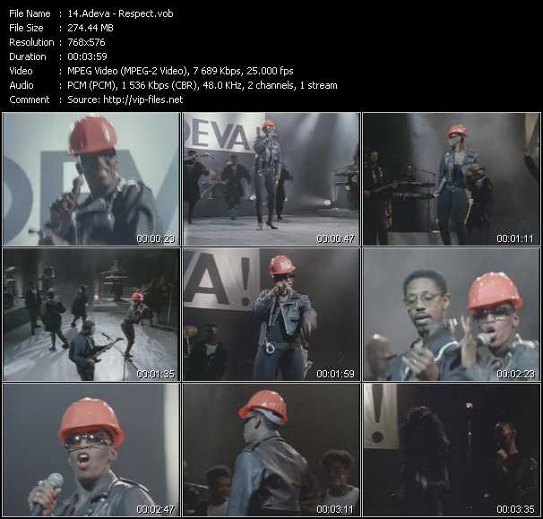 Adeva video screenshot