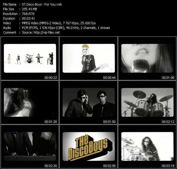 Disco Boys video screenshot
