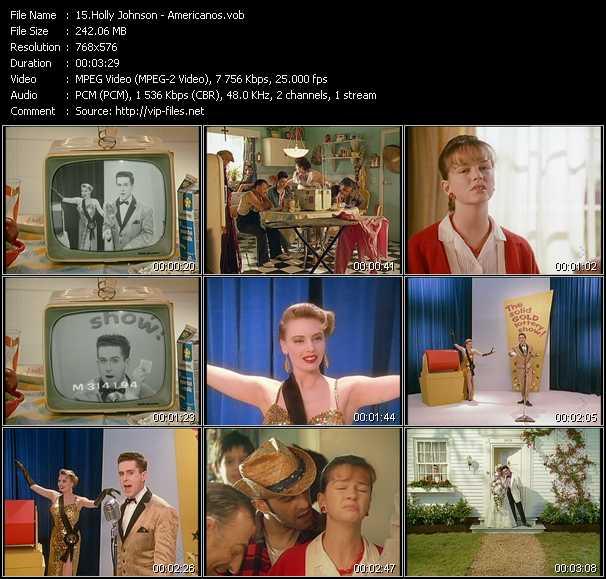Holly Johnson video screenshot