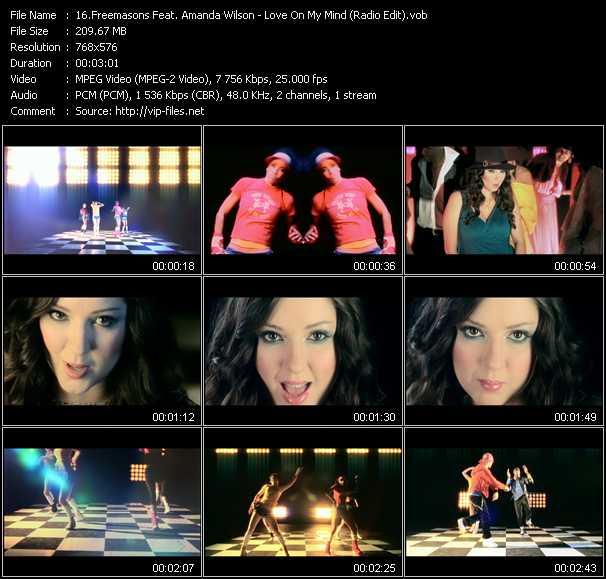 video Love On My Mind (Radio Edit) screen