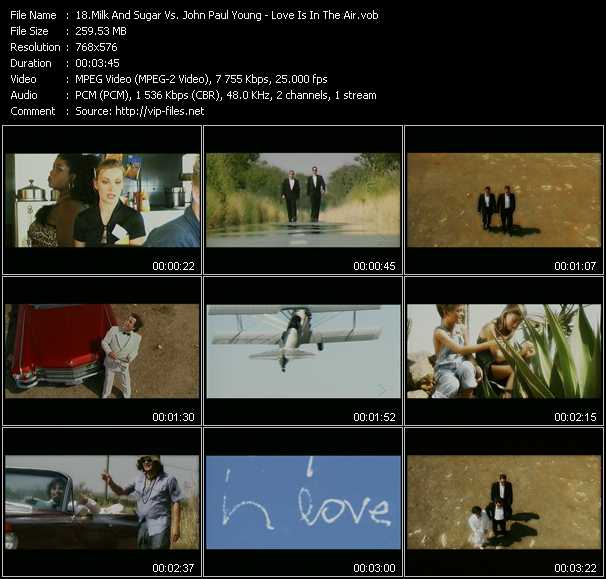 Milk And Sugar Vs. John Paul Young video screenshot