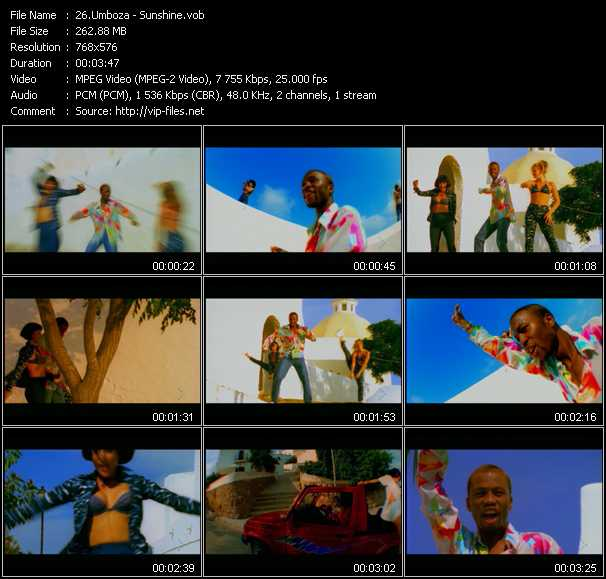 Umboza video screenshot