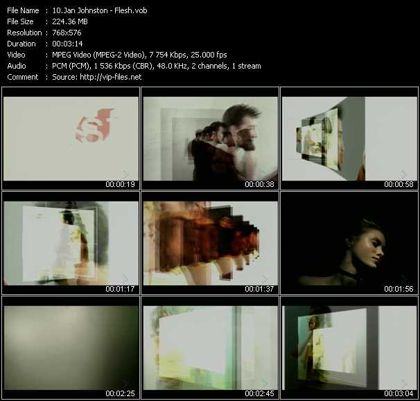 Jan Johnston video screenshot