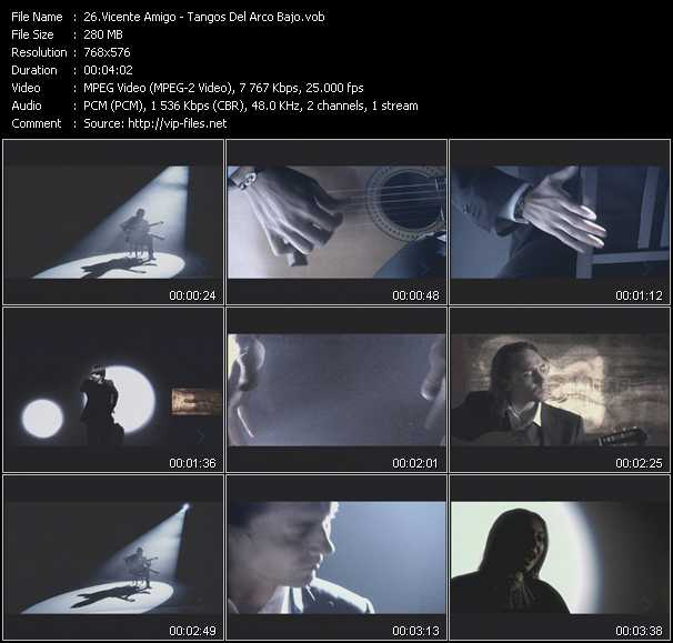 Vicente Amigo video screenshot