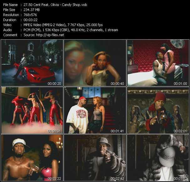 50 Cent Feat. Olivia video screenshot