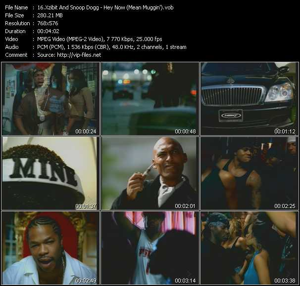 Xzibit And Snoop Dogg video screenshot