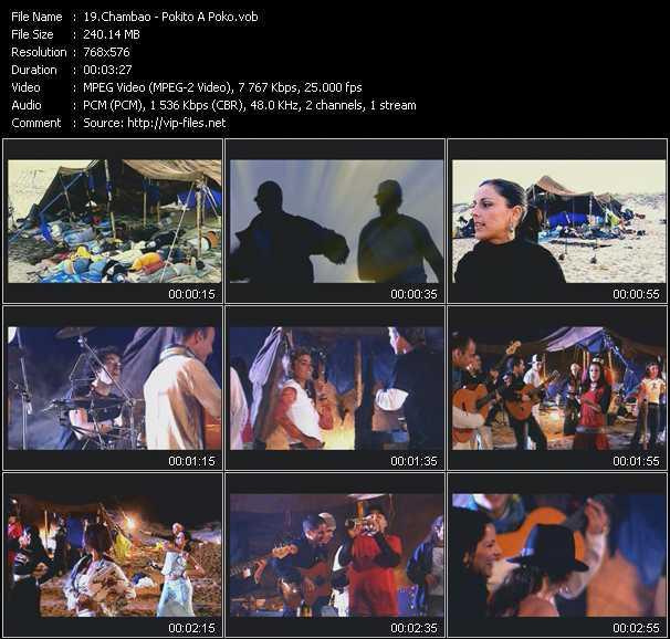 Chambao video screenshot