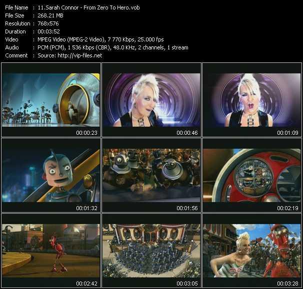 Sarah Connor video screenshot
