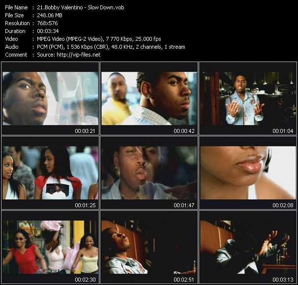 Bobby Valentino (Bobby V) video screenshot