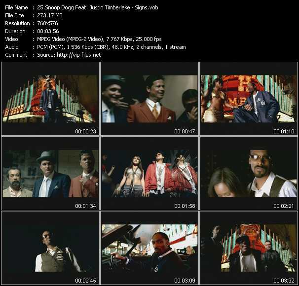 Snoop Dogg Feat. Justin Timberlake video screenshot