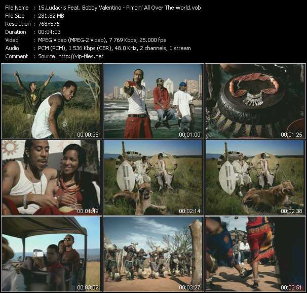 Ludacris Feat. Bobby Valentino (Bobby V) video screenshot