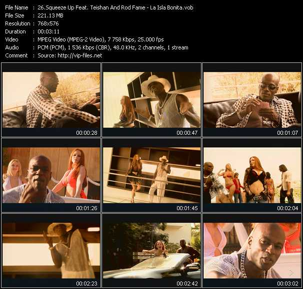 Squeeze Up Feat. Teishan And Rod Fame video screenshot