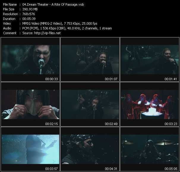 Dream Theater video screenshot