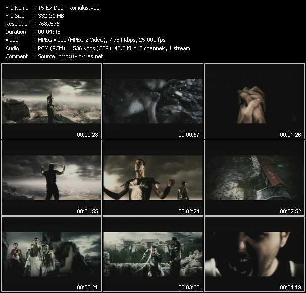 Ex Deo video screenshot