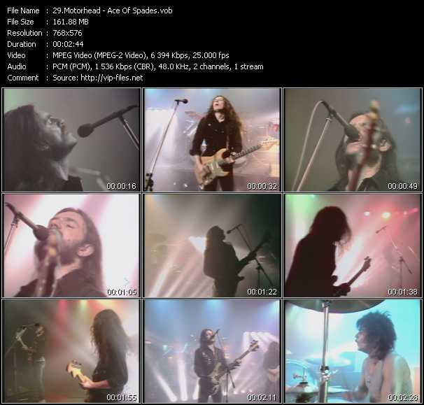 Motorhead video screenshot