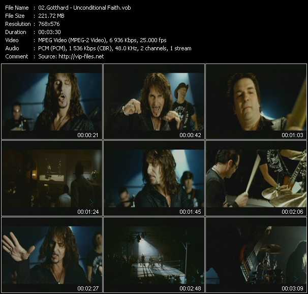 Gotthard video screenshot