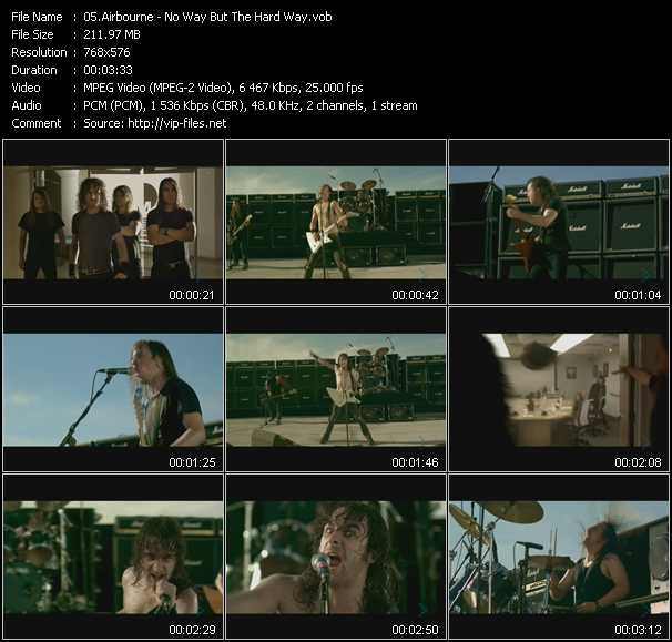 Airbourne video screenshot