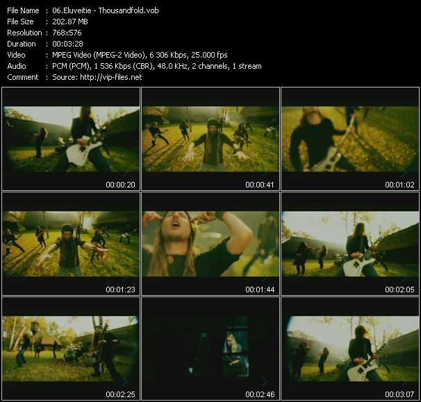 Eluveitie video screenshot