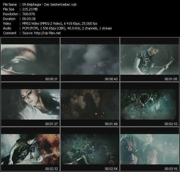 Belphegor video screenshot