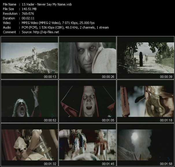 Vader video screenshot