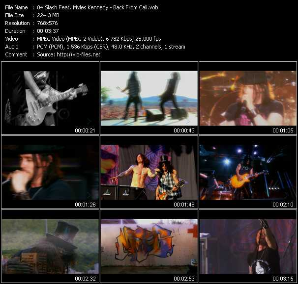 Slash Feat. Myles Kennedy video screenshot
