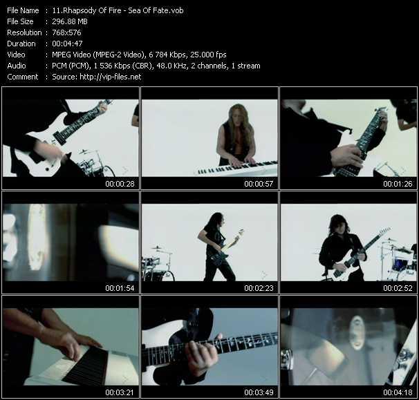 Rhapsody Of Fire video screenshot
