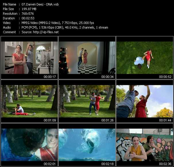 Darwin Deez video screenshot