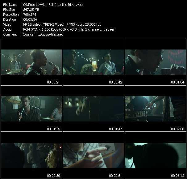 Pete Lawrie video screenshot