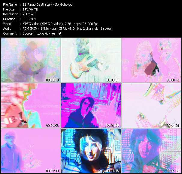 Ringo Deathstarr video screenshot