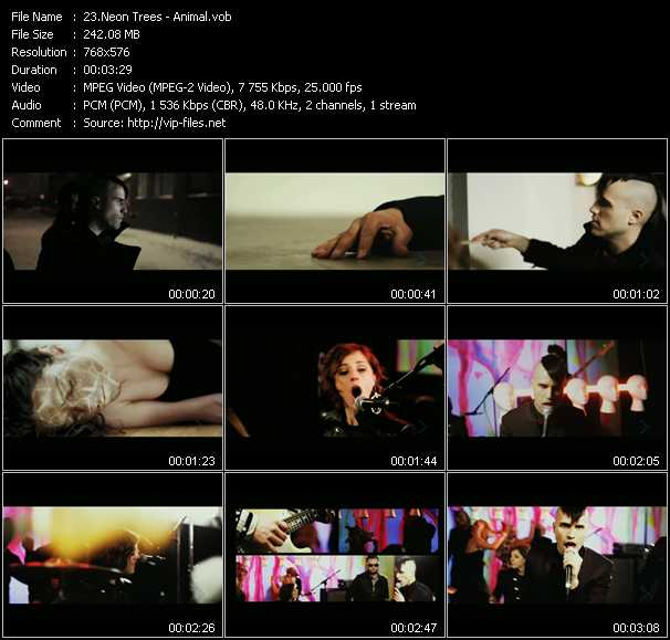 Neon Trees video screenshot