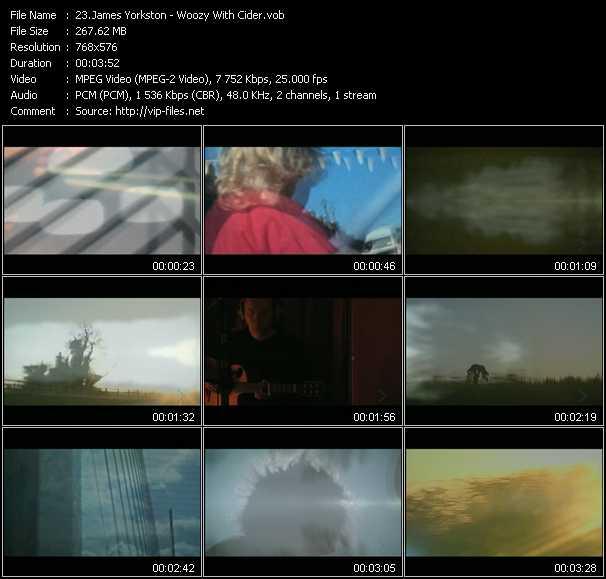 James Yorkston video screenshot