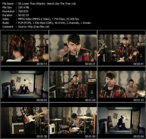 Lower Than Atlantis video screenshot