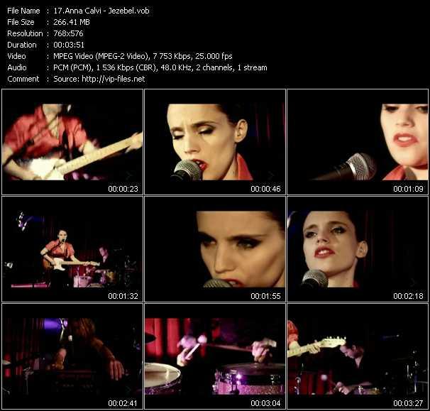 Anna Calvi video screenshot