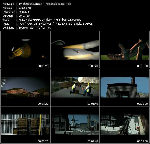 Thirteen Senses video screenshot