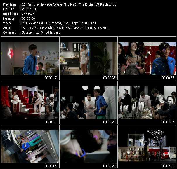 Man Like Me video screenshot
