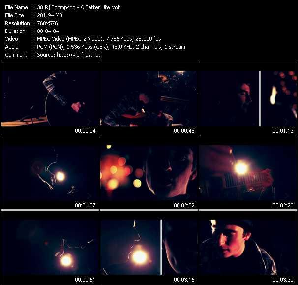 Rj Thompson video screenshot