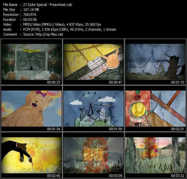 Duke Special video screenshot