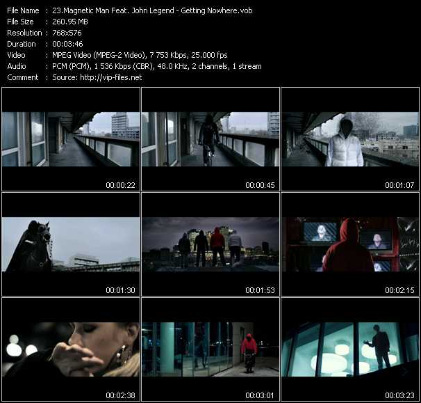 Magnetic Man Feat. John Legend video screenshot
