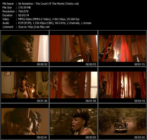 Noisettes video screenshot