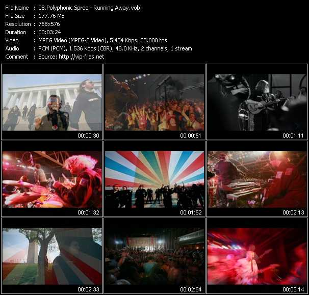Polyphonic Spree video screenshot
