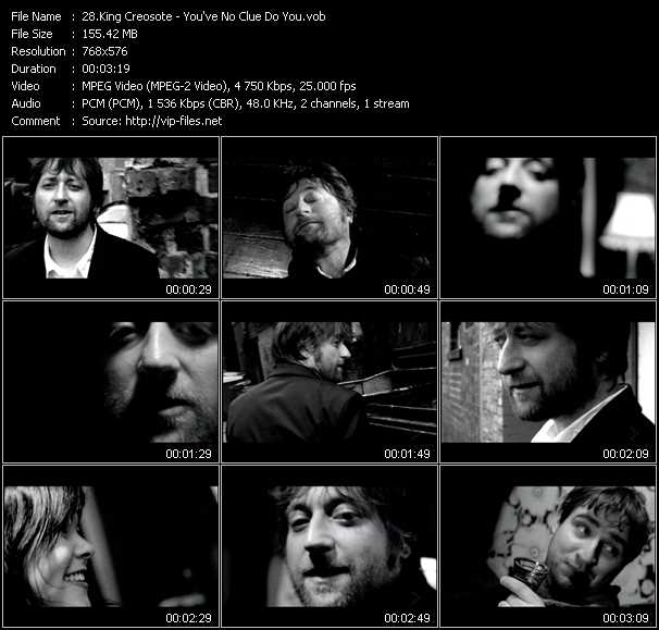 King Creosote video screenshot