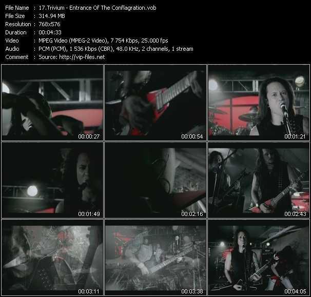 Trivium video screenshot