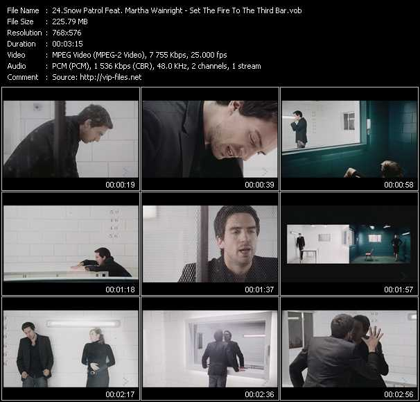 Snow Patrol Feat. Martha Wainright video screenshot