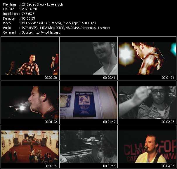 Secret Show video screenshot
