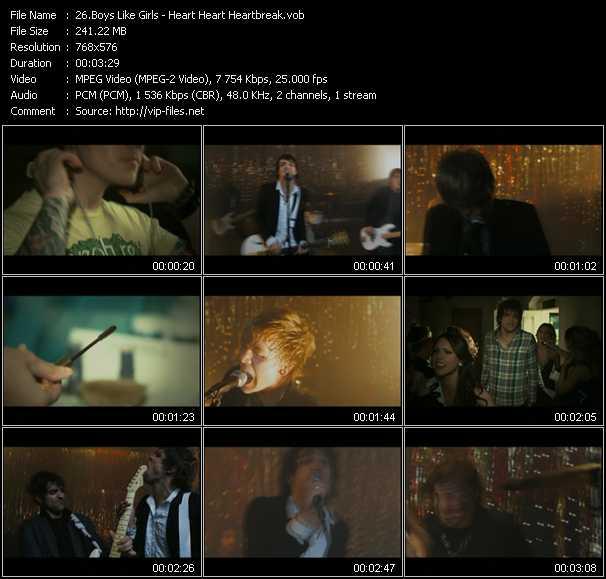 Boys Like Girls video screenshot