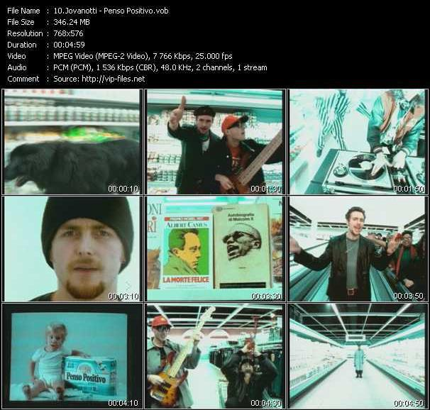 Jovanotti video screenshot
