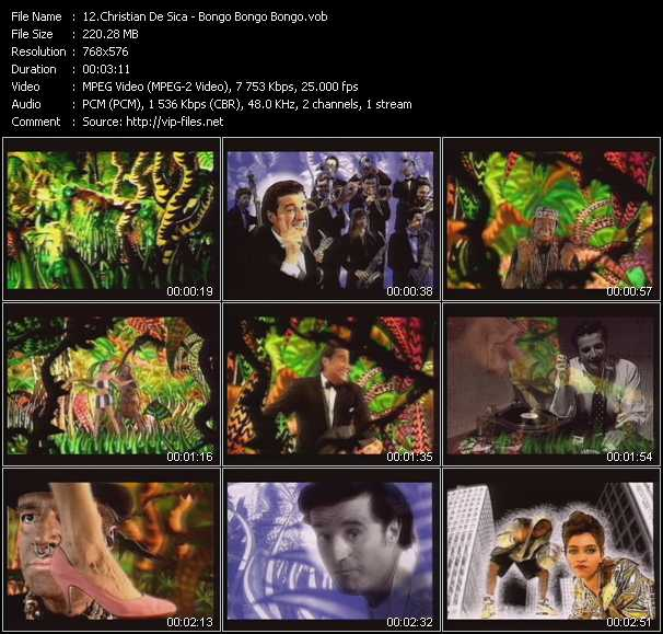 Christian De Sica video screenshot